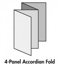 4 Panel Accordian Fold